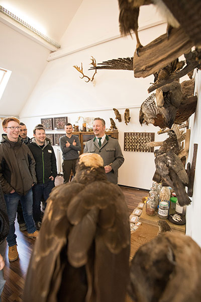 Naturschutz-Unterricht in der Jagdschule Blittersdorf