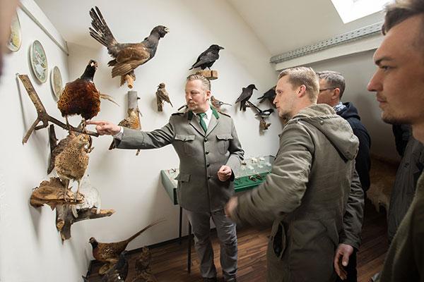 Wildkunde-Unterricht in der Jagdschule Blittersdorf